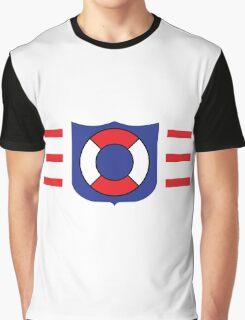Coast Guard Lego Graphic T-Shirt