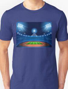 Stadium Background 2016 Summer Games Unisex T-Shirt