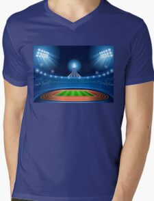 Stadium Background 2016 Summer Games Mens V-Neck T-Shirt