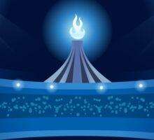 Stadium Background 2016 Summer Games Sticker