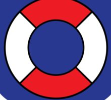 Coast Guard Lego Sticker