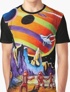 NEW WORLDS Graphic T-Shirt