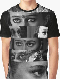 Lexa's eyes Graphic T-Shirt