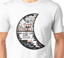 surreal moon landscape Unisex T-Shirt