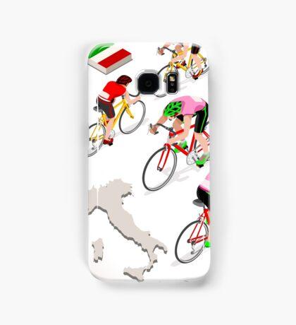 Cyclists Giro Italia Samsung Galaxy Case/Skin