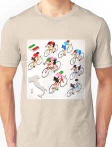 Cyclists Giro Italia Unisex T-Shirt
