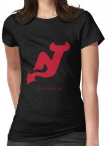 New Jersey Devils 0001 Womens Fitted T-Shirt