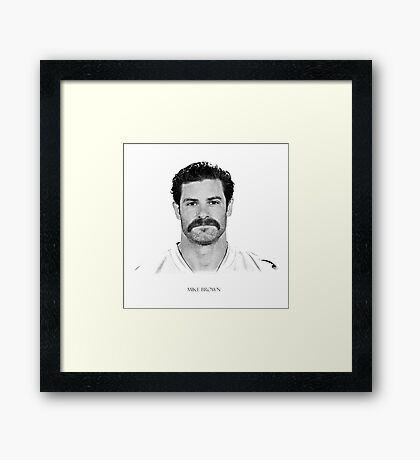Mike Brown Framed Print