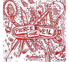 Pierce the veil misadventures album cover Photographic Print