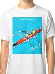 Canoe Rowing 2016 Summer Olympics Classic T-Shirt