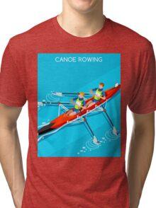 Canoe Rowing 2016 Summer Olympics Tri-blend T-Shirt