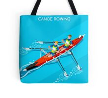 Canoe Rowing 2016 Summer Olympics Tote Bag