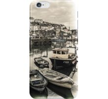 Fishing Boats - Cornwall iPhone Case/Skin
