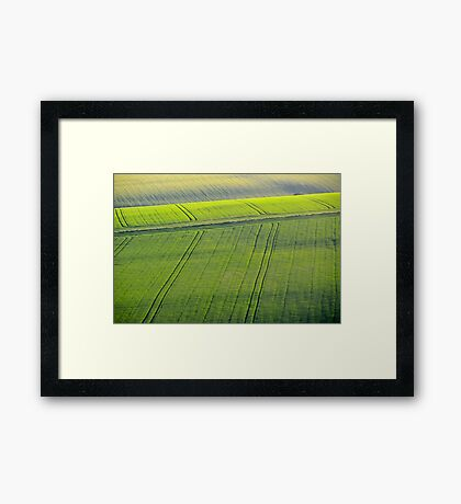 South Downs, Sussex Framed Print