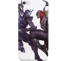 Zed & Shen iPhone Case/Skin