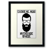 MY EYES Framed Print