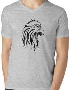 Eagle tattoo design Mens V-Neck T-Shirt