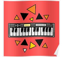 Music keyboard Poster