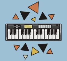 Music keyboard Kids Tee