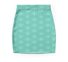 The Diamond Crown Mini Skirt