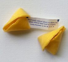 Fortune Cookie 1 by Pamela Burger