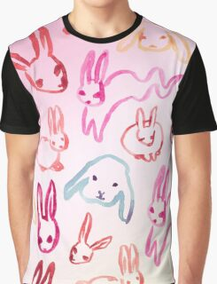 Big Pink Buns Graphic T-Shirt