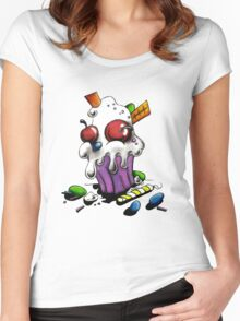 Delicious n Devious Tee Women's Fitted Scoop T-Shirt