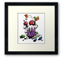 Delicious n Devious Tee Framed Print