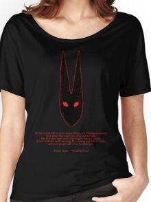 Watership Down RED Women's Relaxed Fit T-Shirt