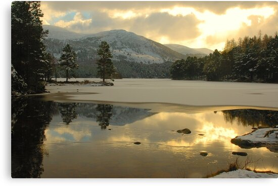 Icy Loch by Steve