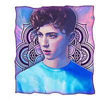 Troye Sivan Blue Neighbourhood Photographic Print