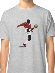 Playing soccer shot Classic T-Shirt