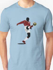 Playing soccer shot T-Shirt