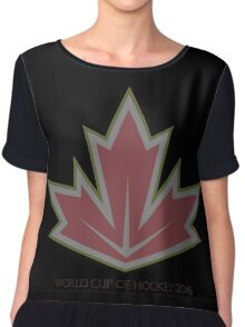 World Cup Hockey 2016 Chiffon Top