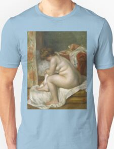 Auguste Renoir - Woman After Bath 1896 Woman Portrait Unisex T-Shirt