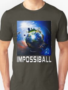 Flat Earth Impossiball Unisex T-Shirt