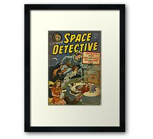 Space Detective No.1 Framed Print