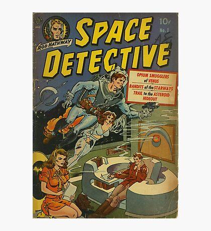 Space Detective No.1 Photographic Print