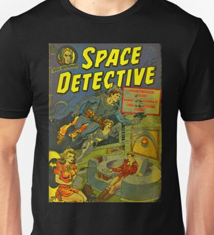 Space Detective No.1 Unisex T-Shirt