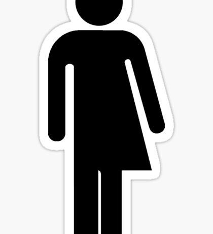 Trans Sign Icon Sticker