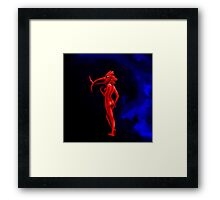 My Walking In My Shoes -Girl2- Framed Print
