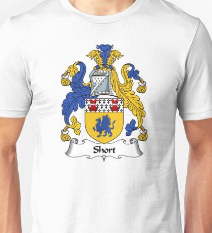 Short Coat of Arms / Short Family Crest Unisex T-Shirt