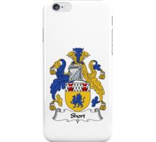 Short Coat of Arms / Short Family Crest iPhone Case/Skin