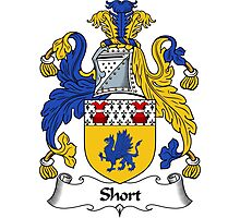 Short Coat of Arms / Short Family Crest Photographic Print