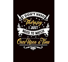 Watch Once Upon A Time Photographic Print