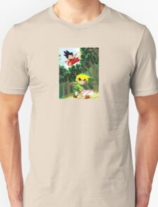 Link vs Kid Goku Unisex T-Shirt