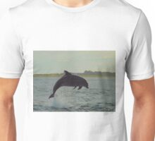 Dolphin from shore Unisex T-Shirt