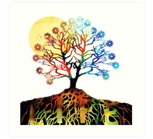 Spiritual Art - Tree Of Life Art Print