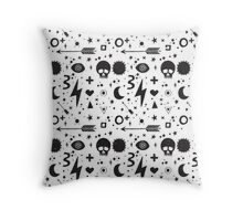 Weapons of weariness Throw Pillow