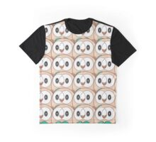 Rowlet (too many) Pokemon shirt Graphic T-Shirt